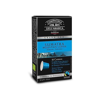 Sumatra Organic Mountain Coffe Grand Ecru 10 X 5.2gr Packet - Capsules