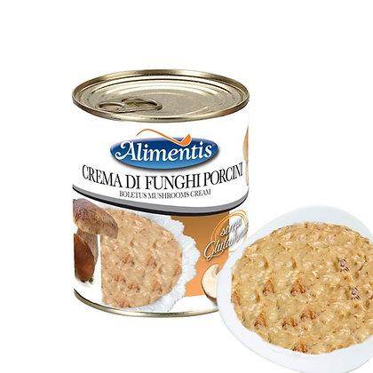 Boletus (Porcino) Mushroom Cream - ALIMENTIS - 800 gr