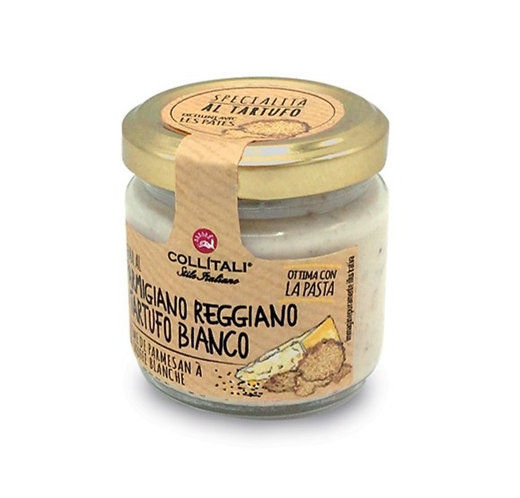 Parmigiano Reggiano cream with White Truffle - 80gr