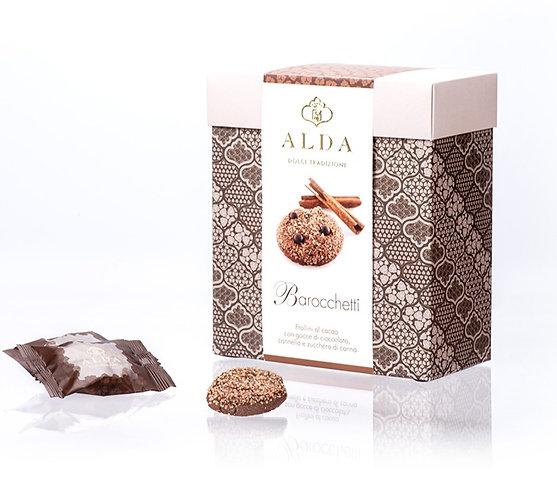 Barocchetti Cinnamon, Cocoa And Chocolate Chips 250gr