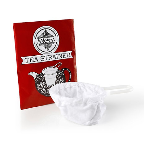 Cotton Strainer, Reusable, Washable, Fit Any Size of Teapot Or Cup