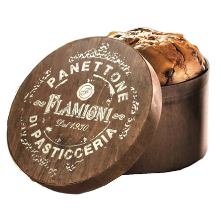 Low Milano - Panettone in Vintage Hatbox 1kg