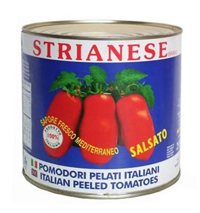 Italian Peeled Tomatoes Sauced - Strianese - 2.5 kg