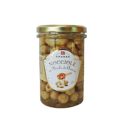 Roasted Hazelnuts In Acacia Honey 330 gr