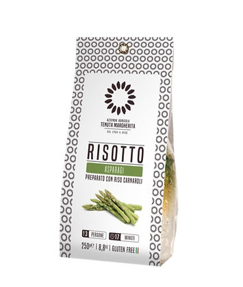 Risotto Ready To Cook Asparagus With Carnaroli Rice - 250gr