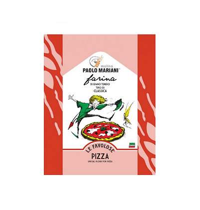Wheat Flour Type '00' Classic Pizza - Paolo Mariani - 25 kg