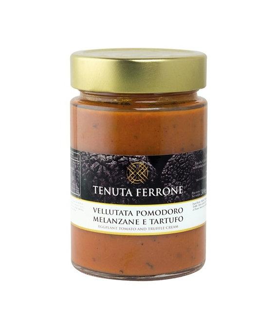 Aubergine, Tomato and Truffle Velvety Sauce 300gr
