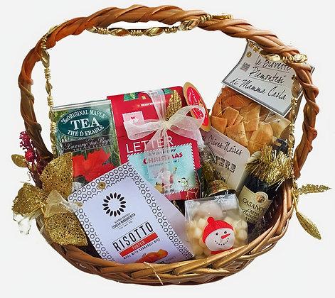 Gift Santa Hamper Red Mail Letter