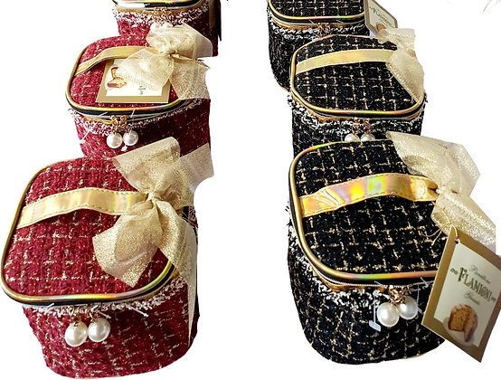 Panettone Milano Flamigni Luxury Beauty Case 100 gr
