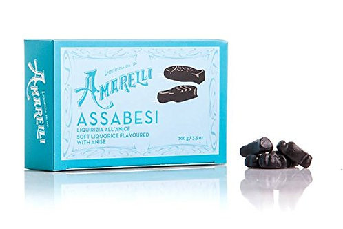 Soft Licorice flavored with Anise 100g.