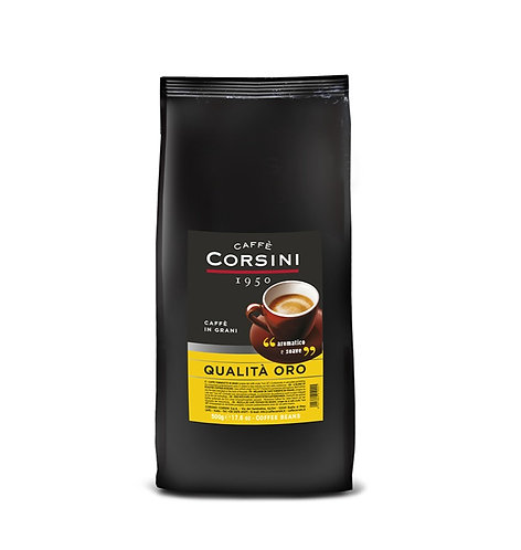 QUALITY GOLD Ground Coffee Corsini 250 gr.  Aromatic & Sweet 500gr - Beans
