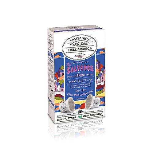 El Salvador - 10 X 5.2gr Packet - Capsules