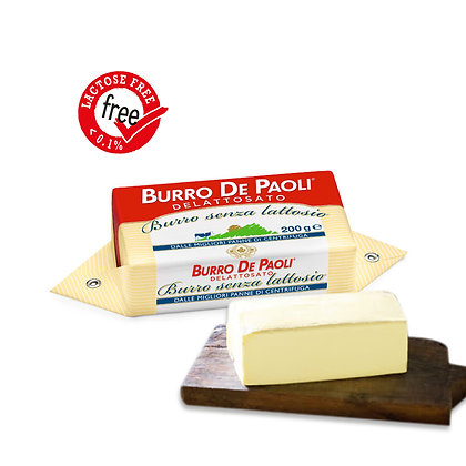 Lactose Free Butter (0.02%Fat) 200gr