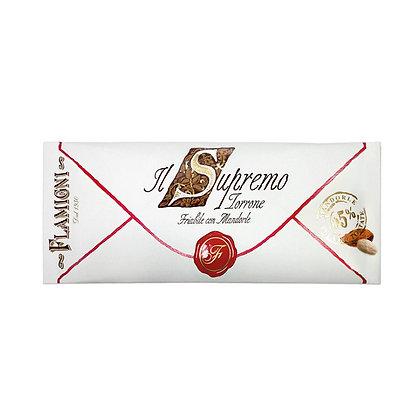 "The ""Supremo"" Nougat Flamigni with almonds - 150g"