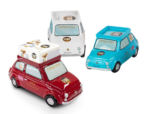 CHOCOMACHINE HOLIDAY 18pcs Fiat Classic Cremino on the roof rack of the car 182g