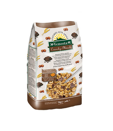 Crunchy Muesli with Chocolate & Hazelnut - 1 kg