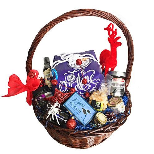 Gift Box Luxury Foodie Gift Hamper Santa