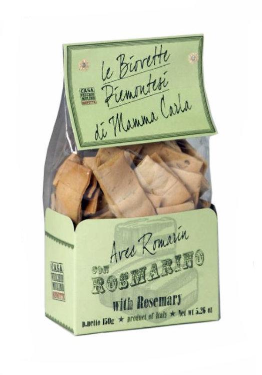 Mini Flat Italian Bread with Rosemary