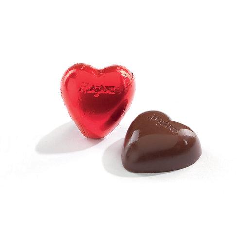 CUORI Hearths Dark chocolate filled with Fiat Noir Cream 1 pcs - 15gr