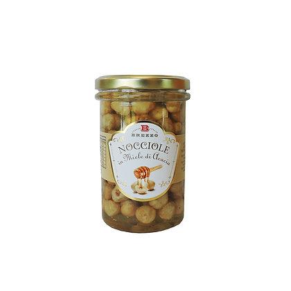Roasted Hazelnuts In Acacia Honey 330gr