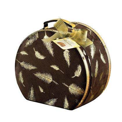 Flamigni Sugar Iced Italian Panettone in Gift Luxury Suitcase - 750g