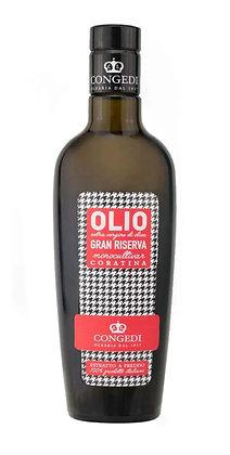 "Italian Gran Riserva Extra Virgin Olive Oil ""CORATINA"" CONGEDI - 500gr"