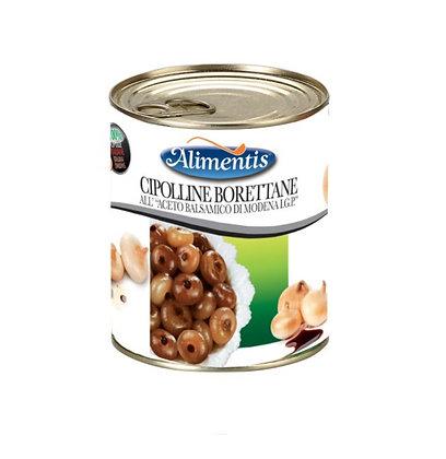 """""""Boretto"""" Onions in Balsamic Vinegar of Modena P.G.I. - Alimentis - 800 g"""