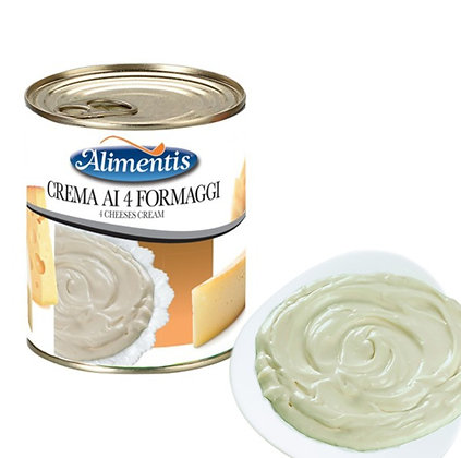 Four Cheeses Cream - Gluten Free - ALIMENTIS - 800 gr