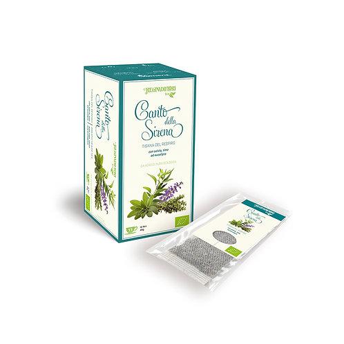 Mermaid Sing Herbal Tea with Sage, Thyme and Eucalyptus - 15x3gr Bags