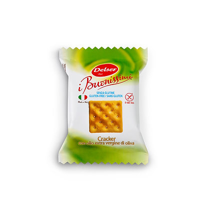 Salted Mini Crackers Gluten Free - 16.5gr Individually Packed 10 pieces