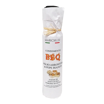 Extra Virgin Olive Oil with Roasted Garlic & White Pepper 100ml BBQ