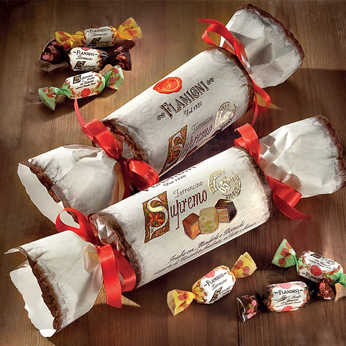 The Crackers with Supremo small crunchy Nougats Flamigni 200g