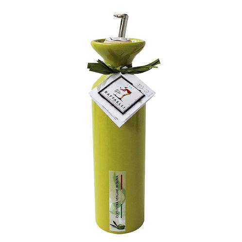 Extra Virgin Olive Oil in Ceramic Dispenser (Green) 250ml