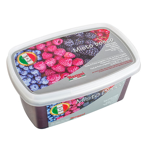 Mix Forest Berries Fruit Puree - 1kg
