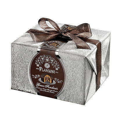 Panettone Extra Dark Chocolate Drops and Cream - 950g