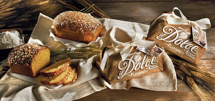 Ancient Wheat Grain Soft Brioche Cake - 350gr