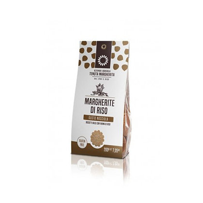 RICE MARGHERITE HAZELNUT 200gr