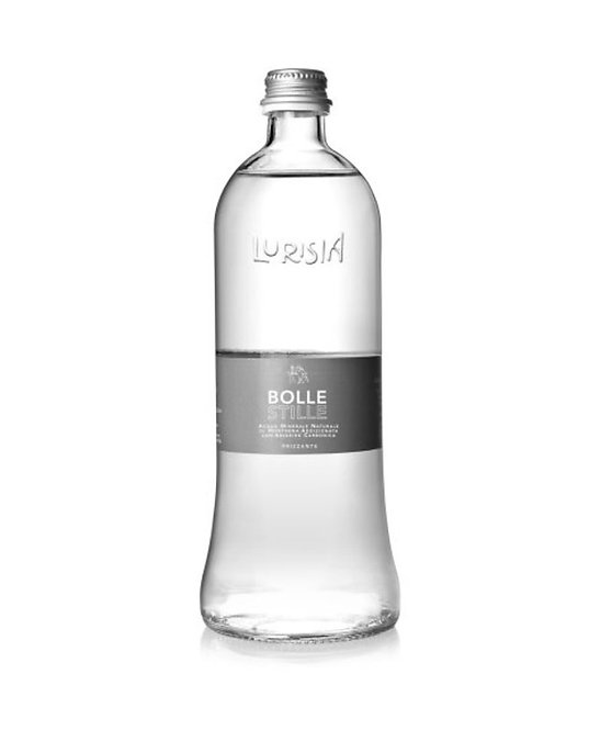 Lurisia Sparkling Mineral Water Glass Bottle - 750ml Pack of 12