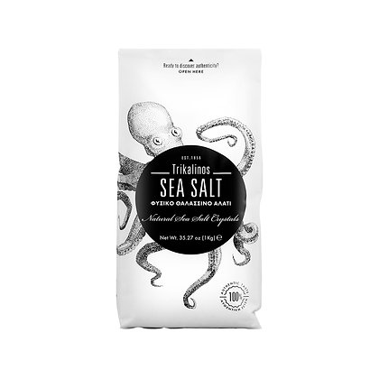 Trikalinos Natural Sea Salt Crystals - 1kg