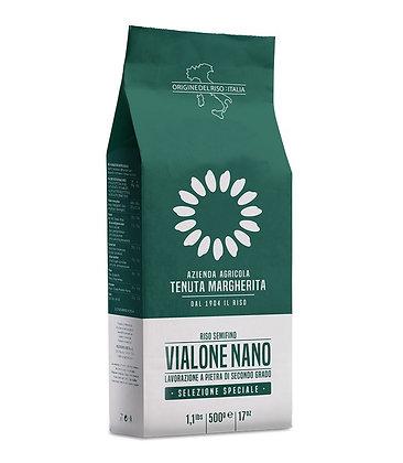 Stone Ground Vialone Nano Rice Vacuum Pack 500g