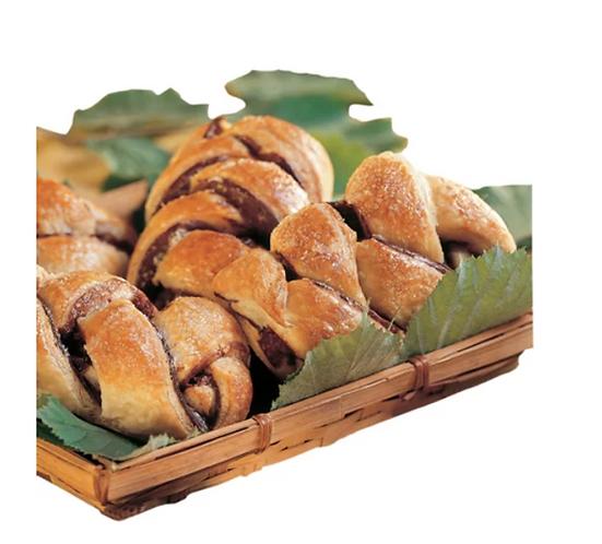 Hazelnut Chocolate Intreccio Croissant 90gr. - 60pcs