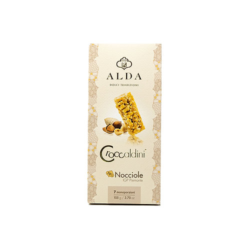 """Crunchy Nougats Individually Wrapped With 70% Of Hazelnuts """"Piemonte Igp"""" 105gr"""