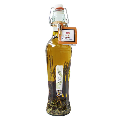 Extra Virgin Olive Oil & Meat Spices Elegant Bottle 500ml