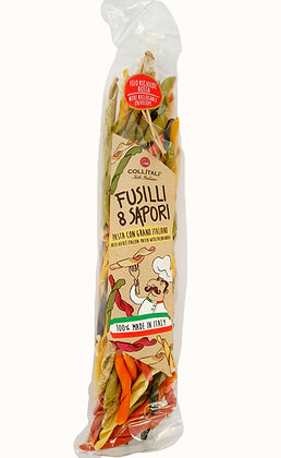 Fusilli 8 Sapori Flavors Pasta with 100% Italian Wheat