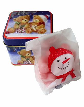 Specialty Candies With Honey and Assorted Fruits100gr.