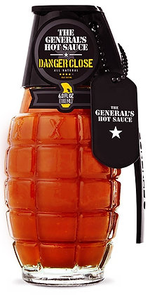 THE GENERAL'S HOT SAUCE DANGER CLOSE - 180 ml