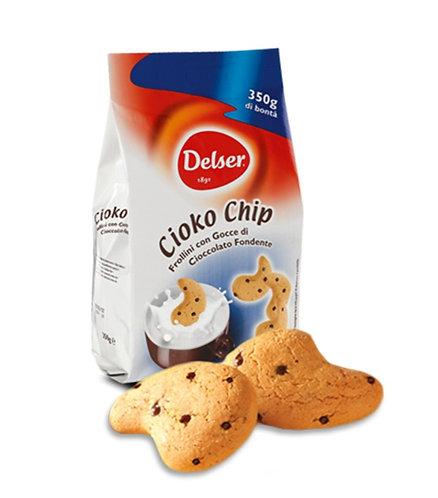 """CIOKO CHIP"" frollini biscuits - 350gr bag"