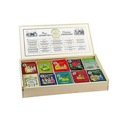 Elephant Tea Luxury Collection - 100 assorted flavours - 10 bags x 2gr