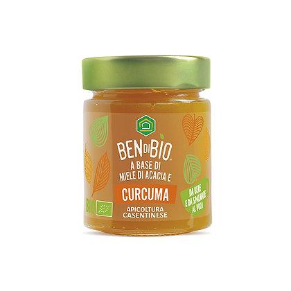 Organic Acacia Honey & Turmeric 180gr