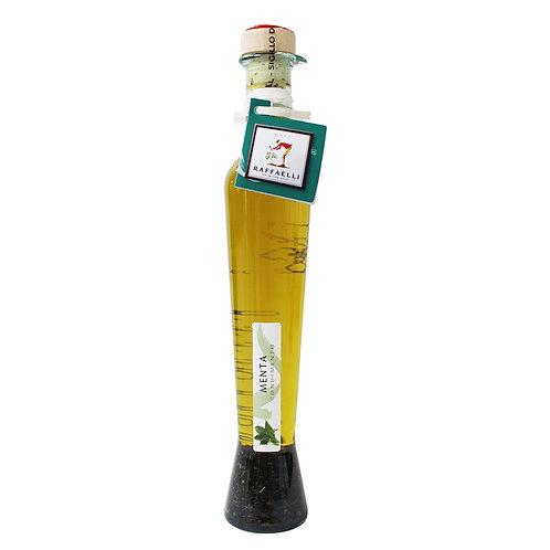 Extra Virgin Olive Oil & Mint in Elegant Bottle 250ml